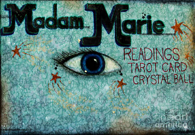 Madam Marie Poster by Colleen Kammerer