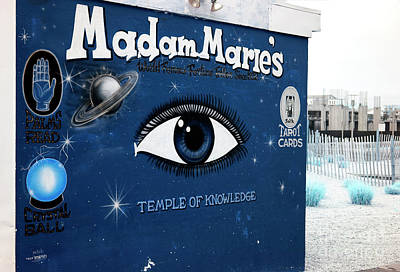 Madam Marie's Blues Poster by John Rizzuto