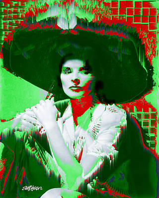 Madame Kate And The Big Hat Poster