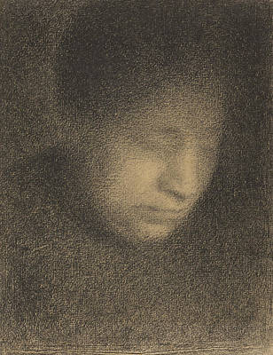 Madame Seurat The Artists Mother Poster