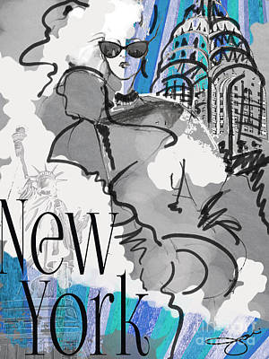 Made In Manhattan Poster by Jodi Pedri
