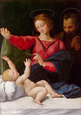 Madonna Of Loreto Poster by Raffaello Sanzio