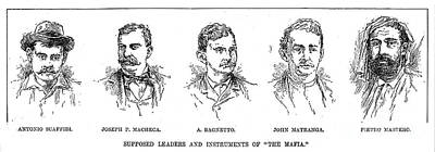 Mafia Leaders, C1890 Poster by Granger