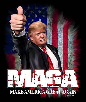 Maga Poster by Don Olea