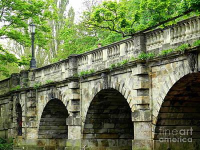 Magdalen's Ancient Bridge Poster