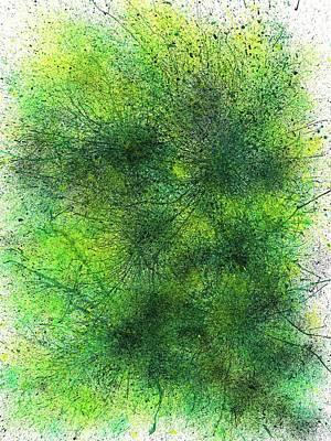 Magellanic Clouds #459 Poster by Rainbow Artist Orlando L aka Kevin Orlando Lau