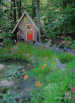 Poster featuring the photograph Magic Garden by Susan Carella