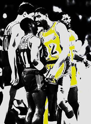 Magic Johnson And Isiah Thomas Poster