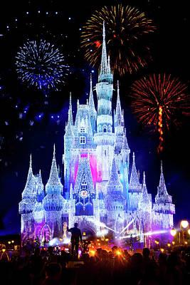 Magic Kingdom Fireworks Poster