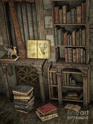Magic Literature Poster