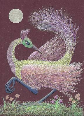 Magic Moon Dance Poster
