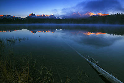 Magic Of Sawtooth Sunrise In Stanley Idaho Poster