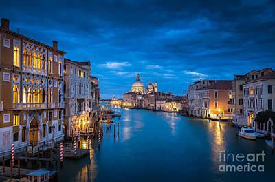 Magic Venice Poster by JR Photography