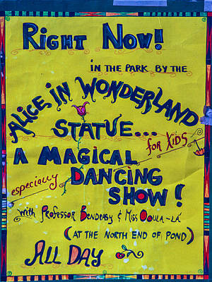 Magical Dancing Show Poster Poster