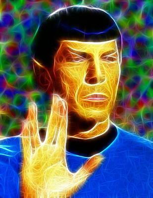 Magical Mr. Spock Poster