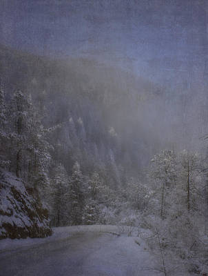 Poster featuring the photograph Magical Winter Day by Ellen Heaverlo