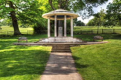 Magna Carta Memorial Poster