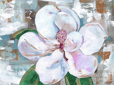 Magnolia Poster by Anne Seay