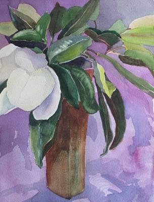 Magnolia Poster by Elizabeth Carr