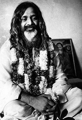 Maharishi Mahesh Yogi, New Delhi Poster by Everett