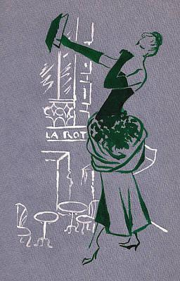 Mai En Paris 3 Poster by Stuart