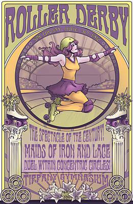 Maids Of Iron And Lace Poster by Dani Kaulakis