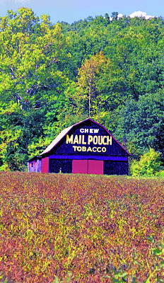 Mail Pouch Barn Image Poster by Paul Price