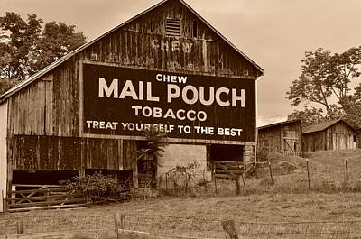 Mail Pouch Poster