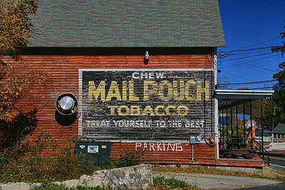 Mail Pouch Tobacco Poster