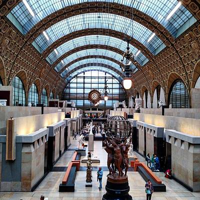 Main Floor Of Musee D'orsay Poster
