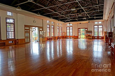 Main Room Of The Wu De Martial Arts Hall Poster by Yali Shi
