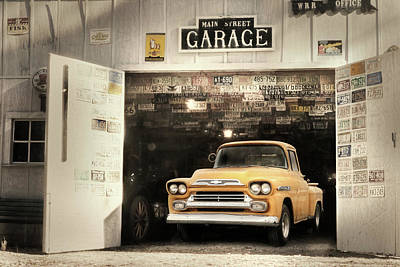 Main Street Garage Poster