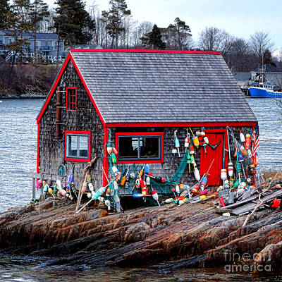 Maine Lobster Shack Poster