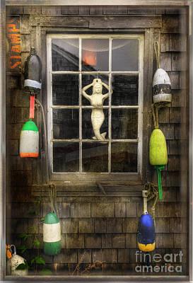 Maine Mermaid Poster
