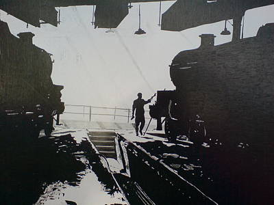 Maintenance Sheds Holbeck Leeds Poster