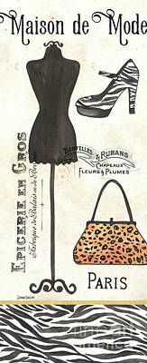 Maison De Mode 1 Poster by Debbie DeWitt