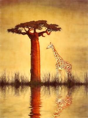 Majestic Dawn Poster by Sharon Lisa Clarke