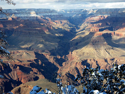 Poster featuring the photograph Majestic Grand Canyon by Laurel Powell
