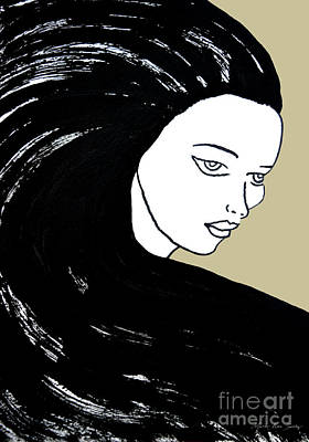 Majestic Lady J0715e Lemon Grass Green Pastel Painting 12-0626 Dcd494 C8c199 Poster