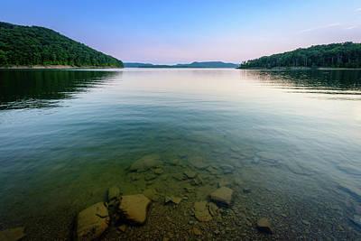 Majestic Lake Poster