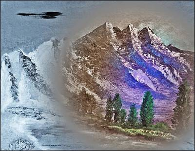 Majestic Mystic Mountains Number Five Poster by Scott Haley