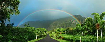 Majestic Rainbow Poster