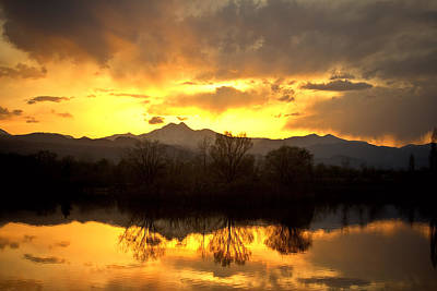 Majestic Sunset Reflections Poster by James BO  Insogna