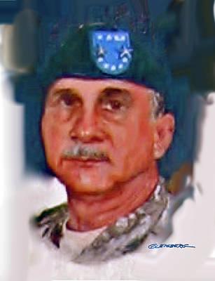 Major General William H. Wade II Poster by Dean Gleisberg