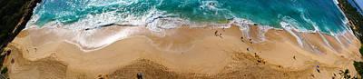 Makaha Beach Panorama Poster