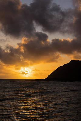 Makapuu Point Lighthouse Sunrise Poster