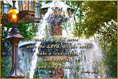 Make A Joyful Noise Poster by Terry Wallace
