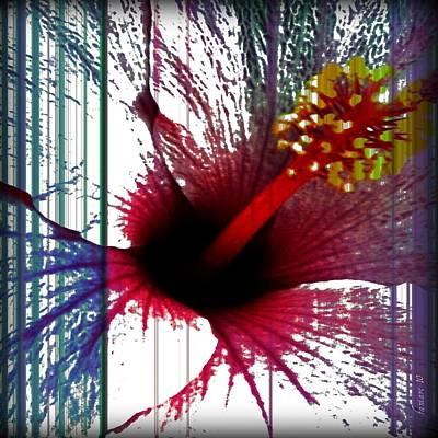 Make Room For My Flower Poster by Fania Simon