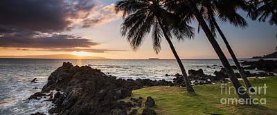 Makena Sunset Maui Hawaii Poster by Dustin K Ryan