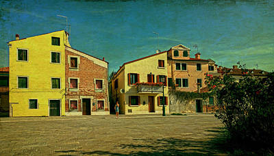 Malamocco Main Street No1 Poster by Anne Kotan